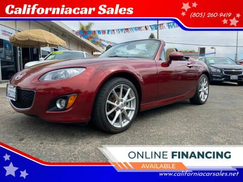 2012 Mazda MX-5 Miata for sale at Californiacar Sales in Santa Maria CA