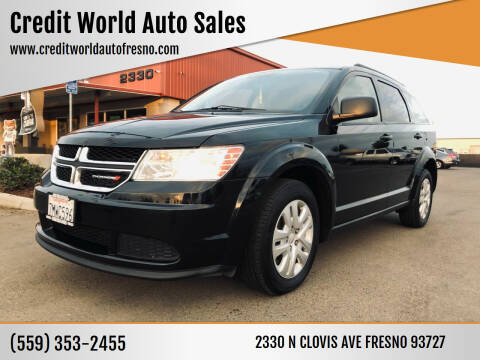2016 Dodge Journey for sale at Credit World Auto Sales in Fresno CA