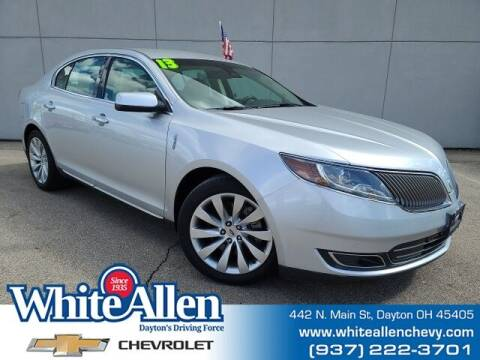2013 Lincoln MKS for sale at WHITE-ALLEN CHEVROLET in Dayton OH