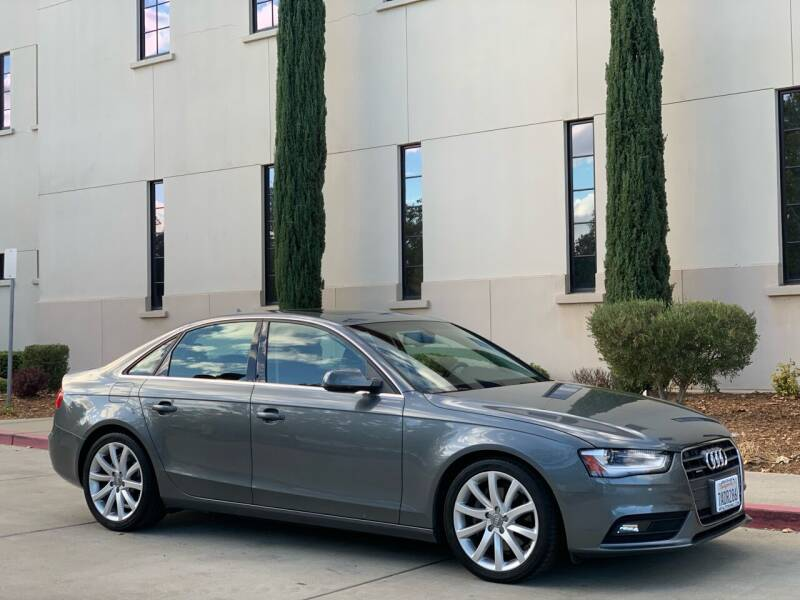 2013 Audi A4 for sale at Auto King in Roseville CA