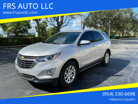 2019 Chevrolet Equinox for sale at FRS AUTO LLC in West Palm Beach FL