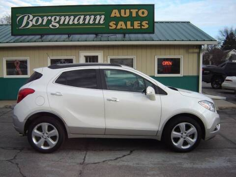 2015 Buick Encore for sale at Borgmann Auto Sales in Norfolk NE