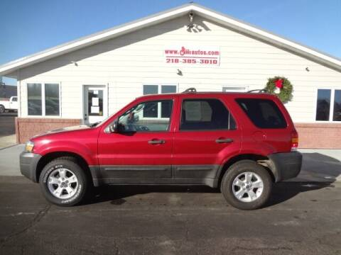 2006 Ford Escape for sale at GIBB'S 10 SALES LLC in New York Mills MN