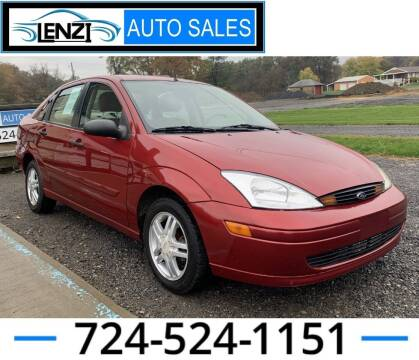 2000 Ford Focus for sale at LENZI AUTO SALES in Sarver PA