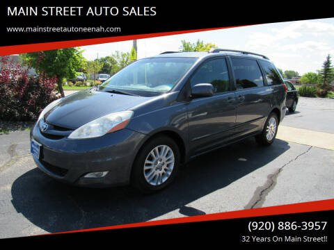 2008 Toyota Sienna for sale at MAIN STREET AUTO SALES in Neenah WI