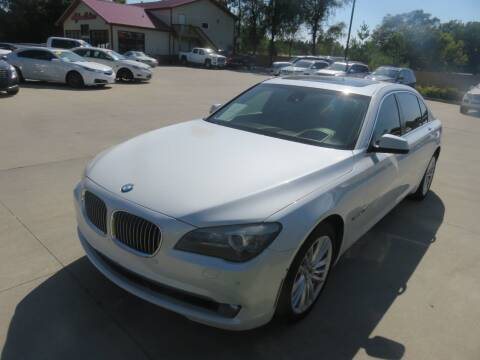 2012 BMW 7 Series for sale at Azteca Auto Sales LLC in Des Moines IA