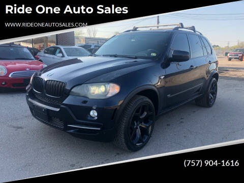 2008 BMW X5 for sale at Ride One Auto Sales in Norfolk VA
