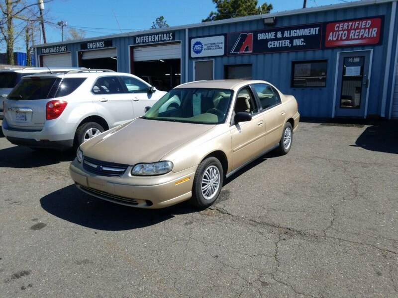 2005 Chevrolet Classic for sale at B & A Automotive Sales in Charlotte NC