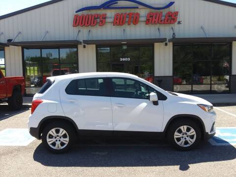 2017 Chevrolet Trax for sale at DOUG'S AUTO SALES INC in Pleasant View TN