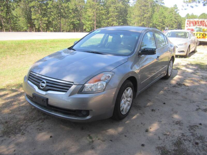 2009 Nissan Altima for sale at SUNNYBROOK USED CARS in Menahga MN
