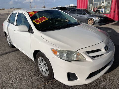 2013 Toyota Corolla for sale at Top Line Auto Sales in Idaho Falls ID