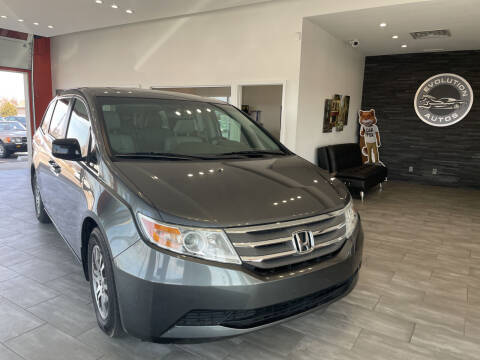2011 Honda Odyssey for sale at Evolution Autos in Whiteland IN