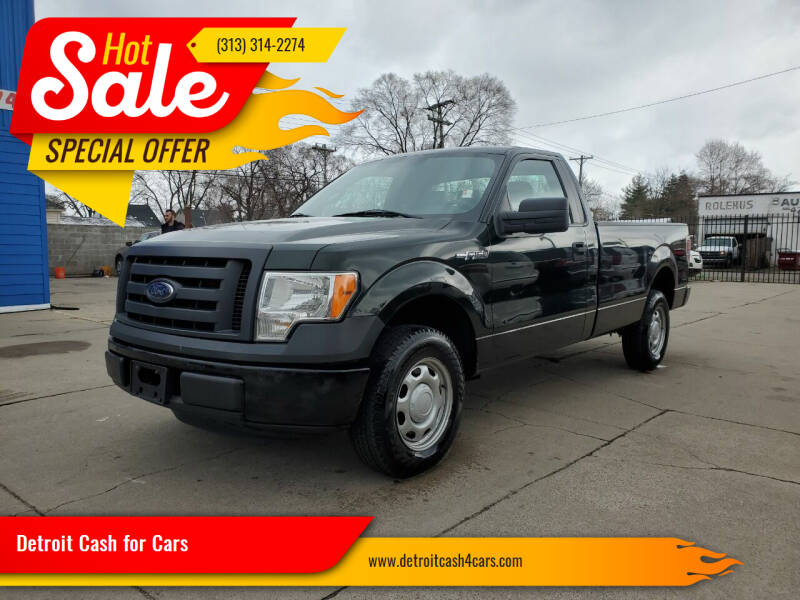 2012 Ford F-150 for sale at Detroit Cash for Cars in Warren MI