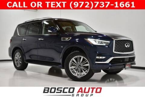 2018 Infiniti QX80 for sale at Bosco Auto Group in Flower Mound TX