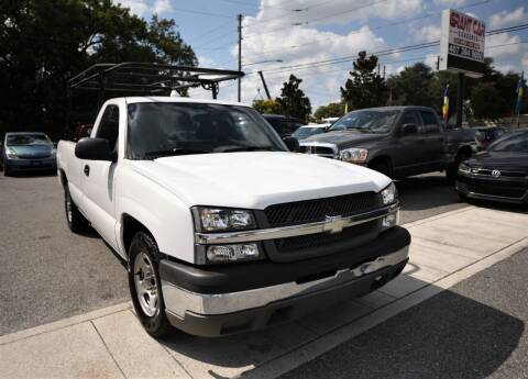 2004 Chevrolet Silverado 1500 for sale at Grant Car Concepts in Orlando FL