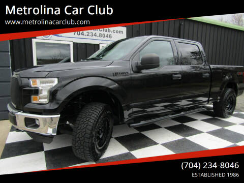 2015 Ford F-150 for sale at Metrolina Car Club in Matthews NC