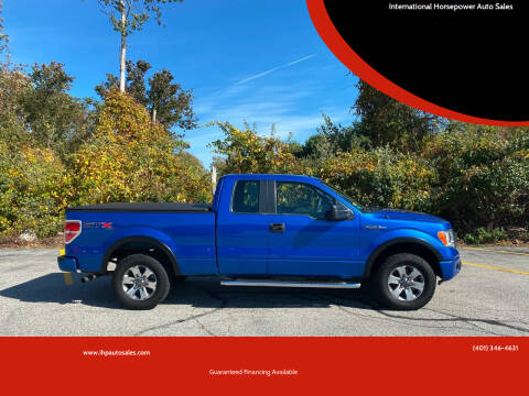 2011 Ford F-150 for sale at International Horsepower Auto Sales in Warwick RI