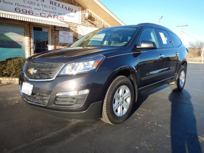 2016 Chevrolet Traverse for sale at Browning's Reliable Cars & Trucks in Wichita Falls TX