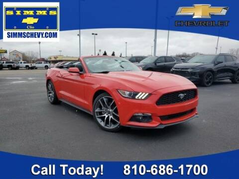 2015 Ford Mustang for sale at Aaron Adams @ Simms Chevrolet in Clio MI