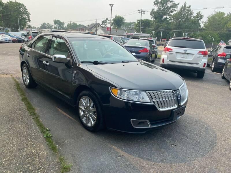2012 Lincoln MKZ for sale at Union Avenue Auto Sales in Hazlet NJ