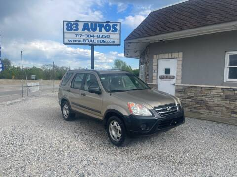 2005 Honda CR-V for sale at 83 Autos in York PA