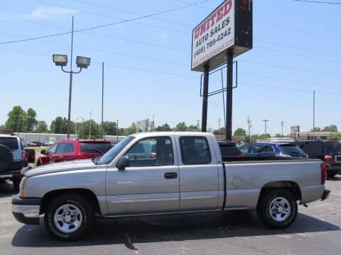 2003 Chevrolet Silverado 1500 for sale at United Auto Sales in Oklahoma City OK