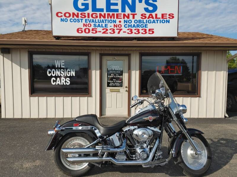 2001 Harley-Davidson fat boy for sale at Glen's Auto Sales in Watertown SD