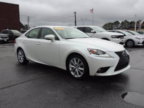 2016 Lexus IS 200t for sale at Auto Finance of Raleigh in Raleigh NC
