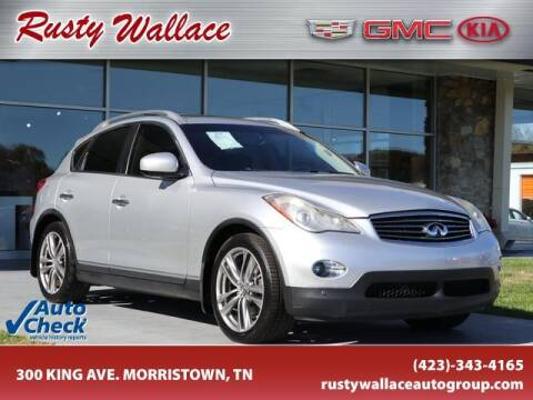 2013 Infiniti EX37 for sale at RUSTY WALLACE CADILLAC GMC KIA in Morristown TN