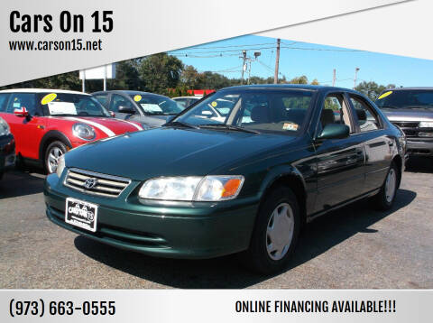 2000 Toyota Camry for sale at Cars On 15 in Lake Hopatcong NJ