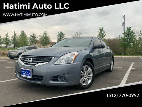 2010 Nissan Altima for sale at Hatimi Auto LLC in Buda TX