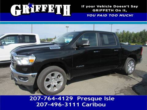 2020 RAM Ram Pickup 1500 for sale at Griffeth Mitsubishi - Pre-owned in Caribou ME
