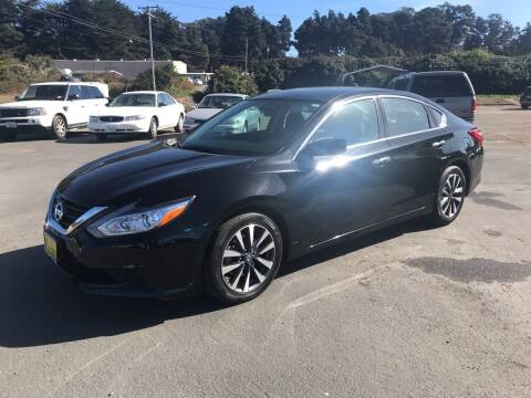 2017 Nissan Altima for sale at HARE CREEK AUTOMOTIVE in Fort Bragg CA