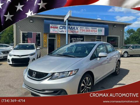 2014 Honda Civic for sale at Cromax Automotive in Ann Arbor MI