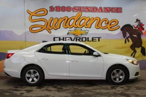 2016 Chevrolet Malibu Limited for sale at Sundance Chevrolet in Grand Ledge MI