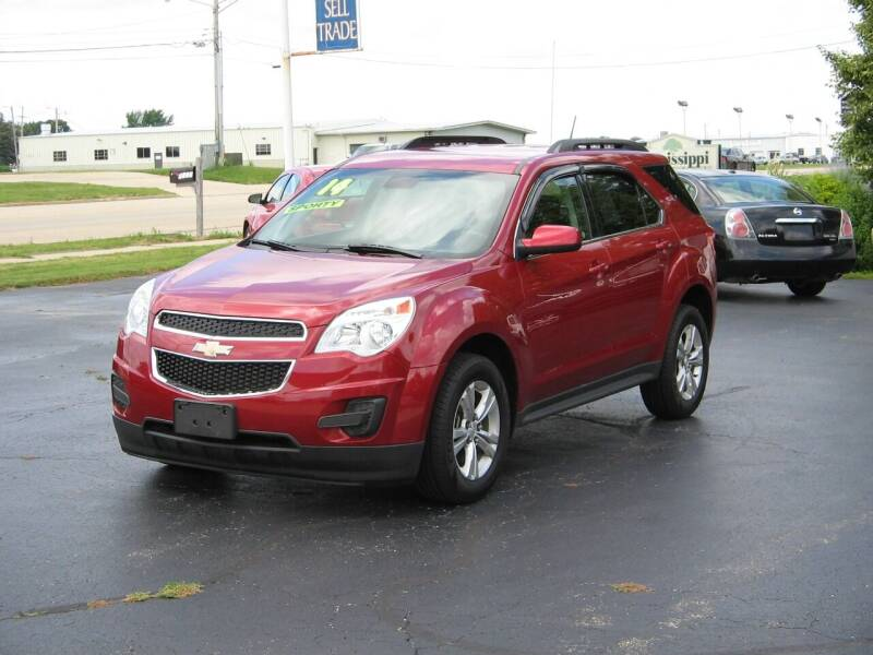 2014 Chevrolet Equinox for sale at Rochelle Motor Sales INC in Rochelle IL