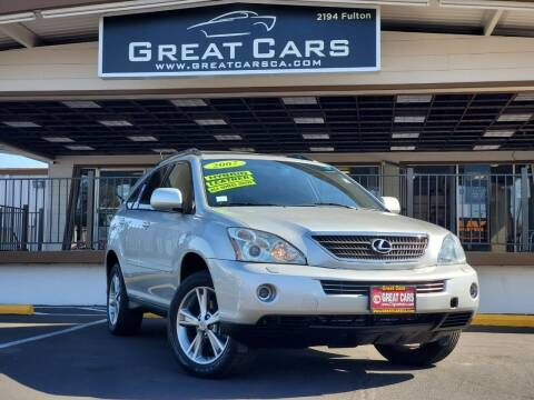 2007 Lexus RX 400h for sale at Great Cars in Sacramento CA
