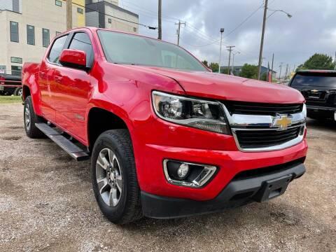 2018 Chevrolet Colorado for sale at LLANOS AUTO SALES LLC in Dallas TX