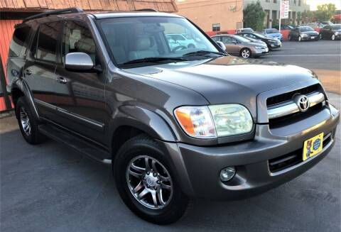 2005 Toyota Sequoia for sale at CARSTER in Huntington Beach CA