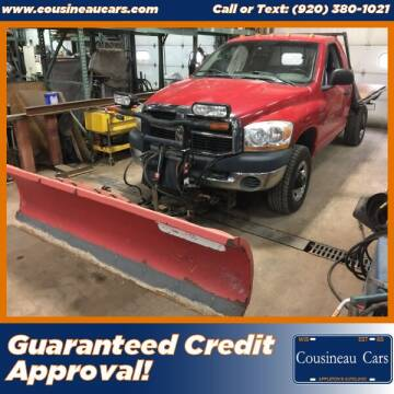 2006 Dodge Ram Pickup 2500 for sale at CousineauCars.com in Appleton WI