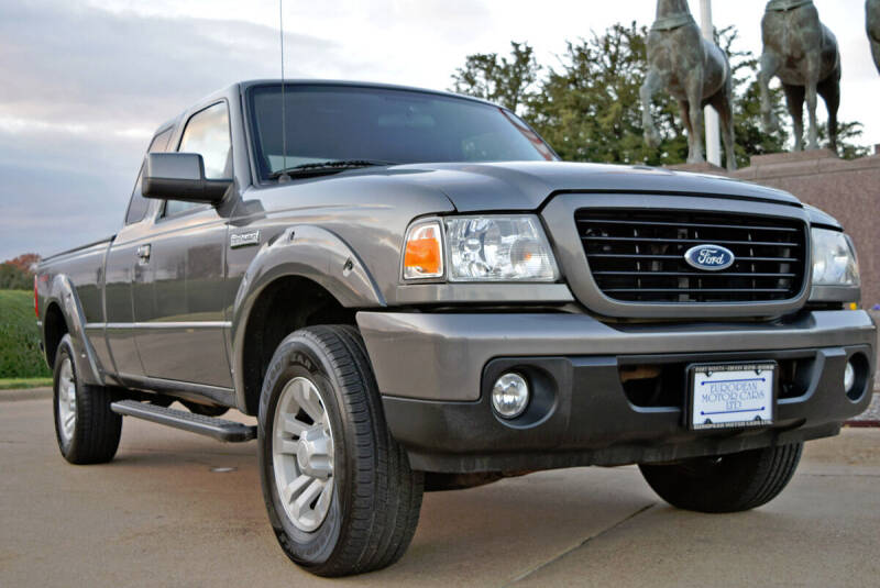 2008 Ford Ranger for sale at European Motor Cars LTD in Fort Worth TX