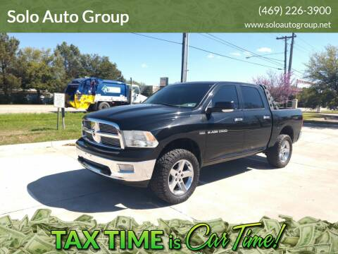 2011 RAM Ram Pickup 1500 for sale at Solo Auto Group in Mckinney TX