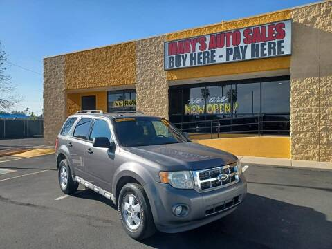 2010 Ford Escape for sale at Marys Auto Sales in Phoenix AZ