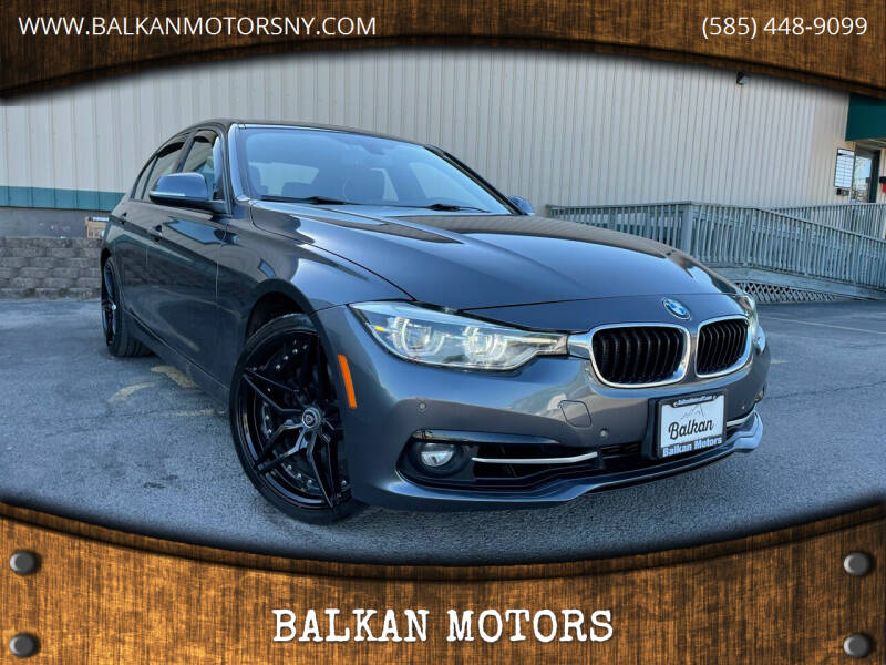 2016 BMW 3 Series for sale at BALKAN MOTORS in East Rochester NY