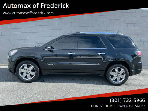 2014 GMC Acadia for sale at Automax of Frederick in Frederick MD
