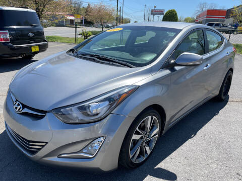 2014 Hyundai Elantra for sale at Diana Rico LLC in Dalton GA