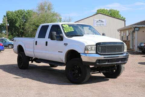 2000 Ford F-350 Super Duty for sale at Northern Colorado auto sales Inc in Fort Collins CO