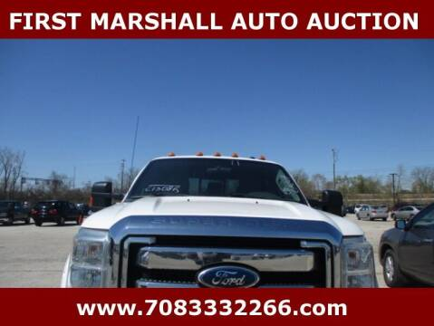 2011 Ford F-250 Super Duty for sale at First Marshall Auto Auction in Harvey IL
