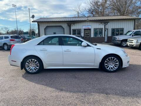 2011 Cadillac CTS for sale at RIVERSIDE AUTO SALES in Sioux City IA