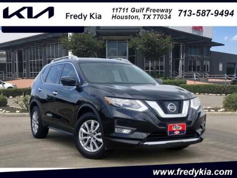 2017 Nissan Rogue for sale at FREDY KIA USED CARS in Houston TX